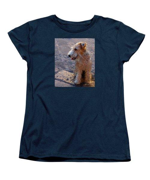 Darby Women's T-Shirt (Standard Cut) by John Kolenberg