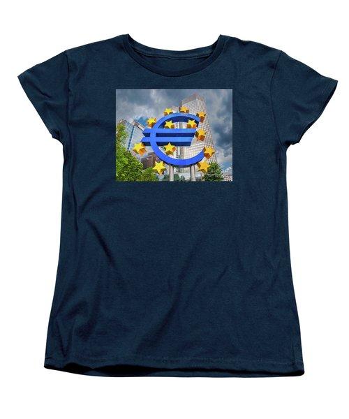 Money Troubles Women's T-Shirt (Standard Cut) by JR Photography