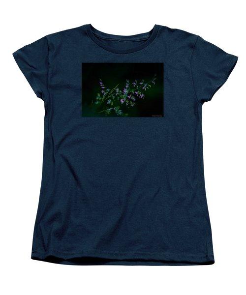 Women's T-Shirt (Standard Cut) featuring the photograph Dark Pink by Michaela Preston