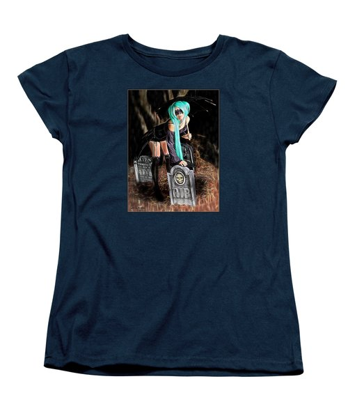 Dark Rain Women's T-Shirt (Standard Cut)