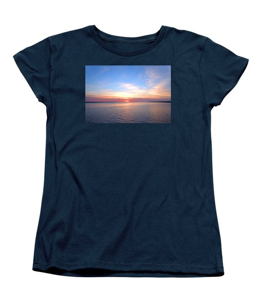 Dark Sunrise I I Women's T-Shirt (Standard Cut) by  Newwwman