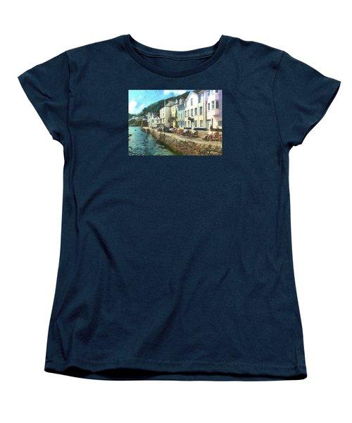 Bayards Cove Dartmouth Devon  Women's T-Shirt (Standard Cut) by Charmaine Zoe
