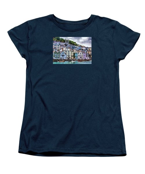 Women's T-Shirt (Standard Cut) featuring the digital art Dartmouth Devon by Charmaine Zoe