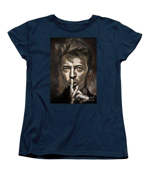 David Women's T-Shirt (Standard Cut) by Andrzej Szczerski