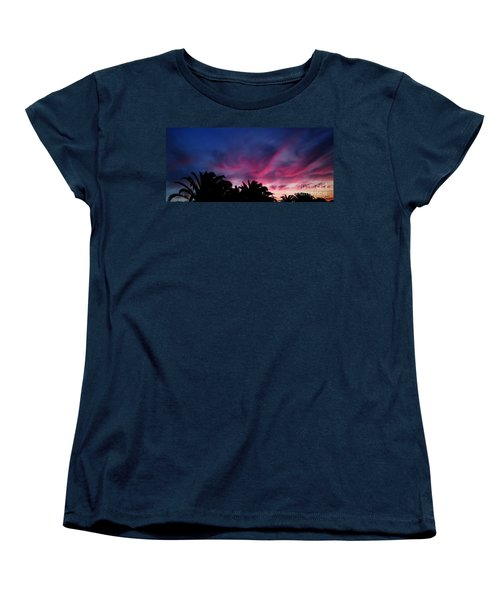 Sunrise - Alba Women's T-Shirt (Standard Cut) by Zedi