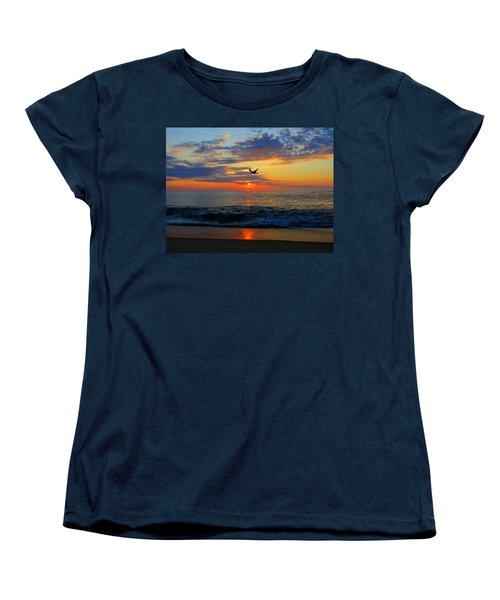 Dawning Flight Women's T-Shirt (Standard Cut) by Dianne Cowen