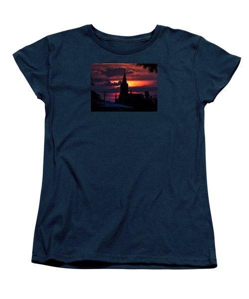 Women's T-Shirt (Standard Cut) featuring the photograph Dawning Faith by Shirley Heier