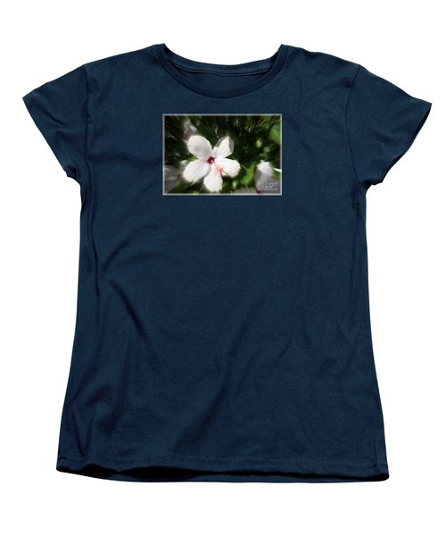 Women's T-Shirt (Standard Cut) featuring the photograph Dawns Flower Of The Morning by Sherri  Of Palm Springs