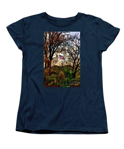 Day Is Done Women's T-Shirt (Standard Cut) by Joan Bertucci