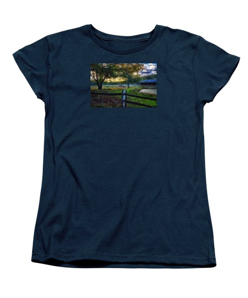 Day Is Nearly Done Women's T-Shirt (Standard Cut) by Tricia Marchlik