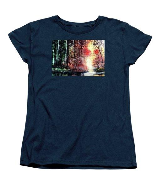 Daybreak 2 Women's T-Shirt (Standard Cut) by Anil Nene