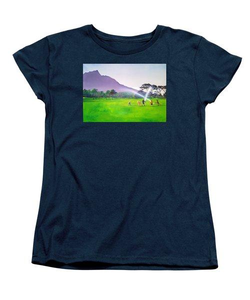 Days Like This Women's T-Shirt (Standard Cut) by Tim Johnson