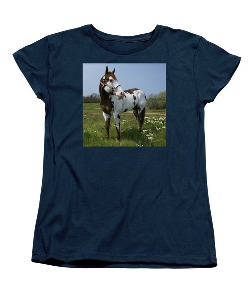 Dealer Posing Proud Women's T-Shirt (Standard Cut) by Mick Anderson