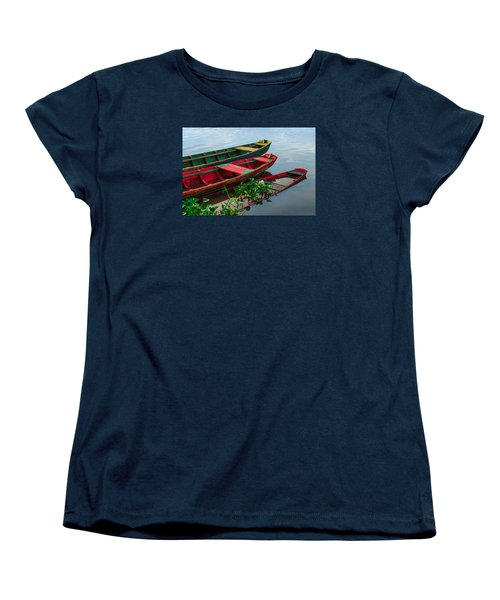 Decaying Boats Women's T-Shirt (Standard Cut) by Celso Bressan