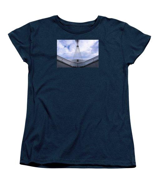 Deconstruction Theory Women's T-Shirt (Standard Cut) by Randy Scherkenbach