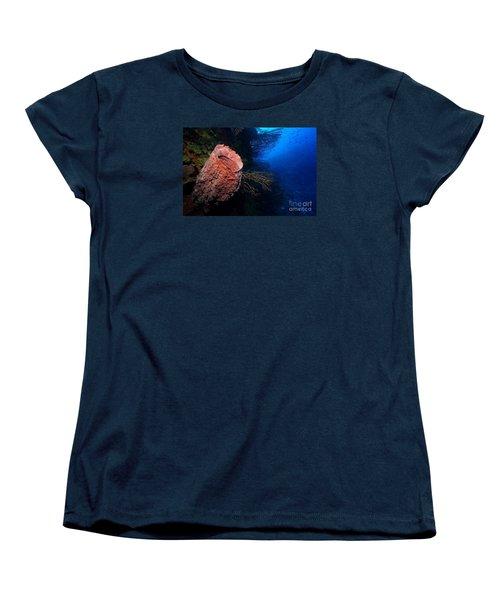 Deep Reef Women's T-Shirt (Standard Cut) by Aaron Whittemore