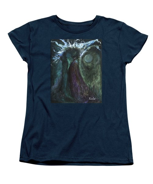 Deformed Transcendence Women's T-Shirt (Standard Cut) by Christophe Ennis