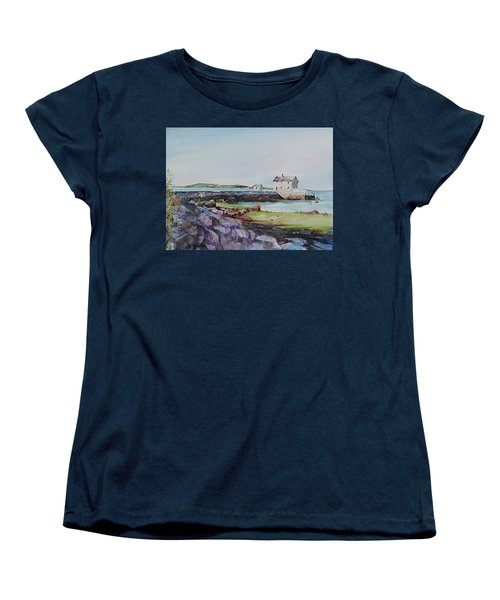 Delano's Wharf At Rock Nook Women's T-Shirt (Standard Cut) by P Anthony Visco
