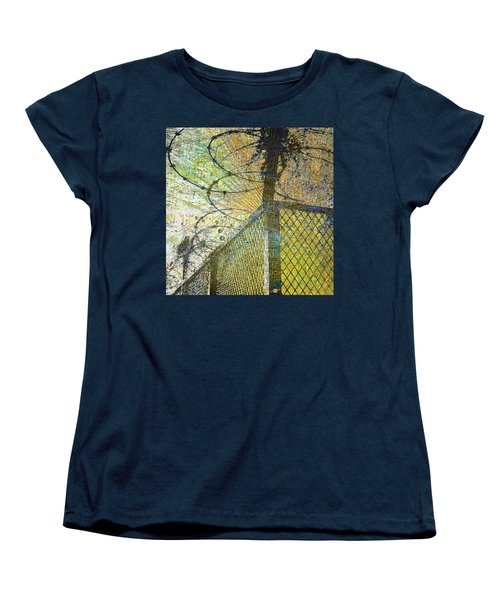 Women's T-Shirt (Standard Cut) featuring the mixed media Deliverance by Tony Rubino