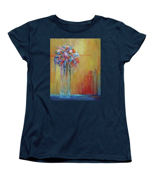 Delivered In Time Women's T-Shirt (Standard Cut) by Roberta Rotunda