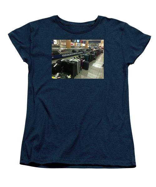 Women's T-Shirt (Standard Cut) featuring the photograph Delta Irony by David Bearden