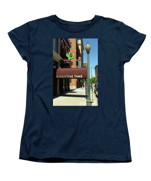 Denver Downtown Storefront Women's T-Shirt (Standard Cut) by Frank Romeo