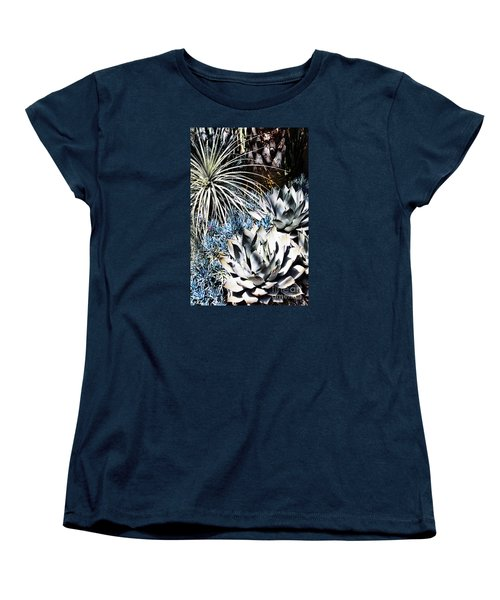 Women's T-Shirt (Standard Cut) featuring the photograph Desert Garden by Judy Wolinsky