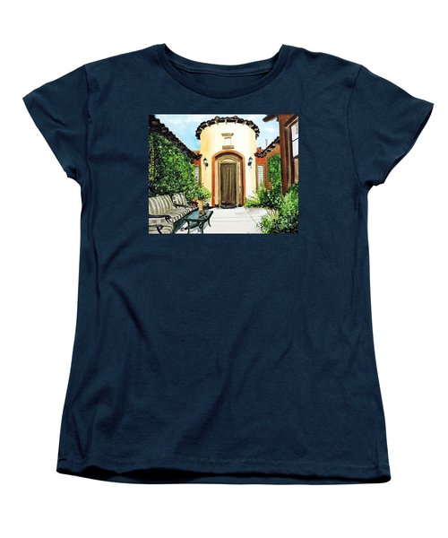 Desert Getaway Women's T-Shirt (Standard Cut) by Tom Riggs