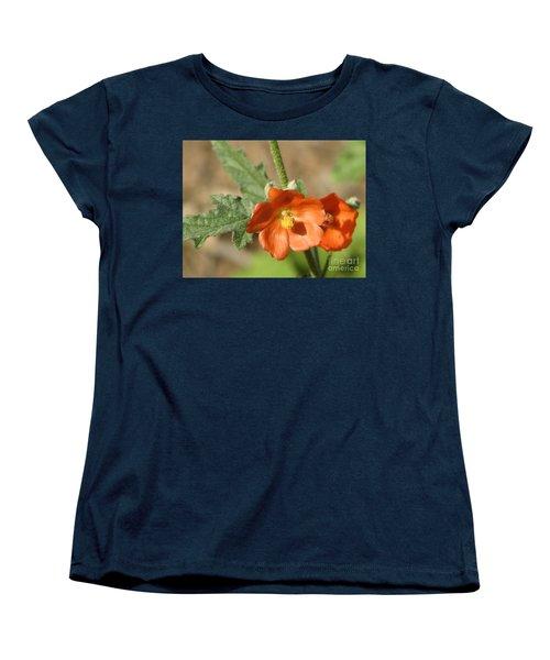 Desert Globemallow Bloom 220 Women's T-Shirt (Standard Cut) by En-Chuen Soo