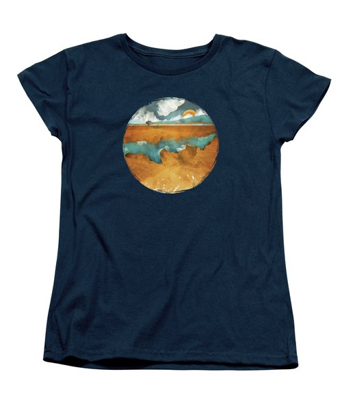 Desert Lake Women's T-Shirt (Standard Cut) by Spacefrog Designs