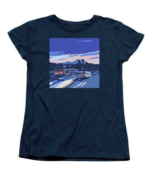 Desert Landscape 2 Women's T-Shirt (Standard Cut) by Bekim Art