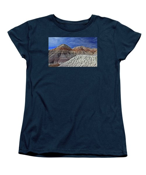 Women's T-Shirt (Standard Cut) featuring the photograph Desert Pastels by Gary Kaylor