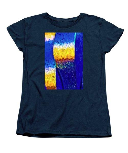 Women's T-Shirt (Standard Cut) featuring the photograph Desert Sky 1 by Paul Wear