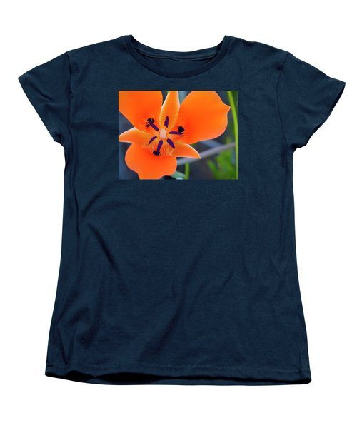 Desert Wildflower Women's T-Shirt (Standard Cut) by Penny Lisowski