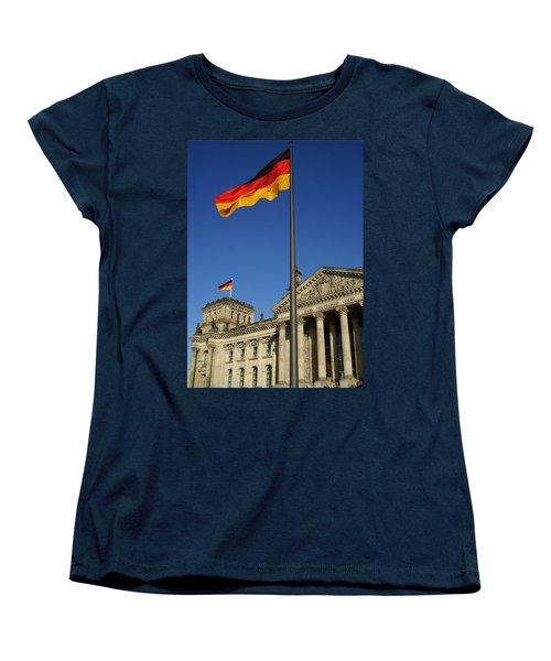 Deutscher Bundestag Women's T-Shirt (Standard Cut) by Flavia Westerwelle