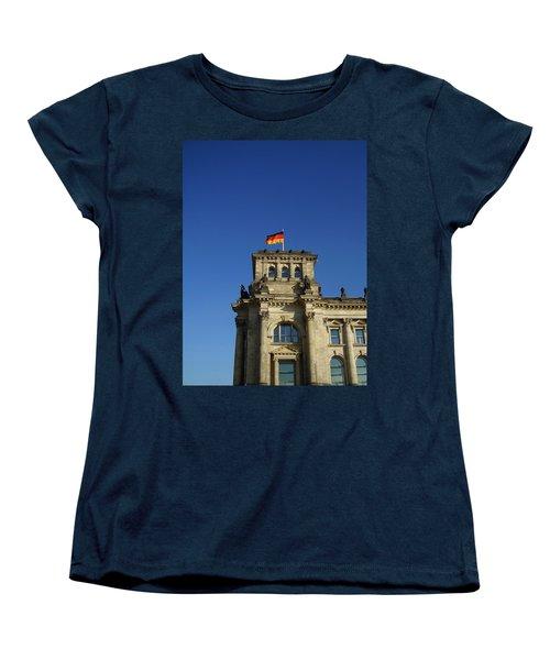 Deutscher Bundestag II Women's T-Shirt (Standard Cut) by Flavia Westerwelle