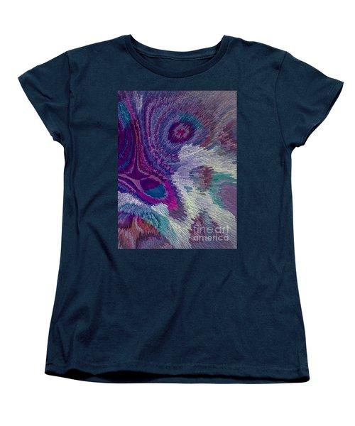 Genetic Modified Iris Women's T-Shirt (Standard Cut) by Moustafa Al Hatter
