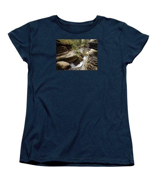 Devil's Bathtub Sd Women's T-Shirt (Standard Cut) by James Peterson