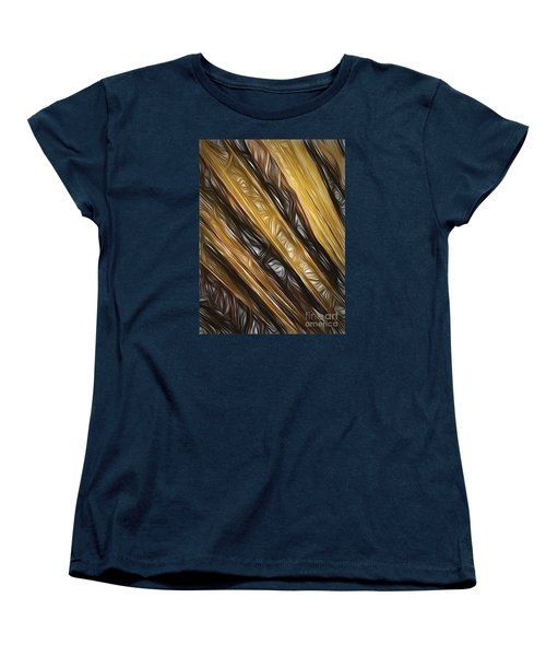 Women's T-Shirt (Standard Cut) featuring the photograph Diagonals  ... by Chuck Caramella
