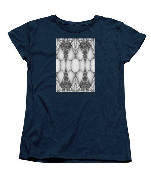 Digitized Ballpoint  Image Twenty Women's T-Shirt (Standard Cut) by Jack Dillhunt