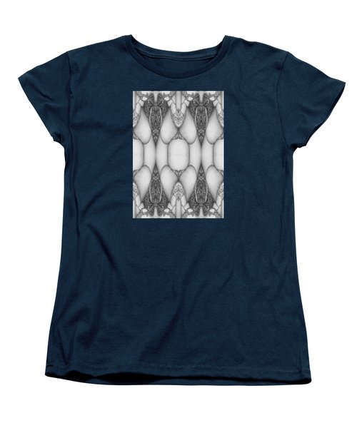 Digitized Ballpoint  Image Twenty Women's T-Shirt (Standard Cut)