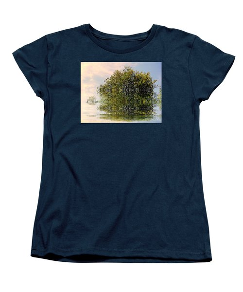 Dimensional Women's T-Shirt (Standard Cut) by Elfriede Fulda