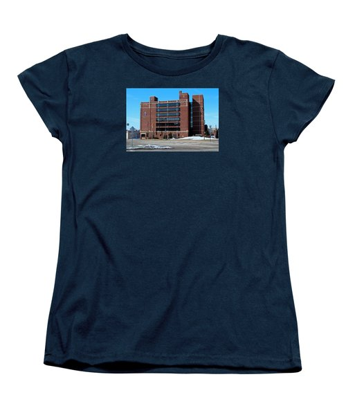 Women's T-Shirt (Standard Cut) featuring the photograph Diocese Of Toledo In Winter by Michiale Schneider