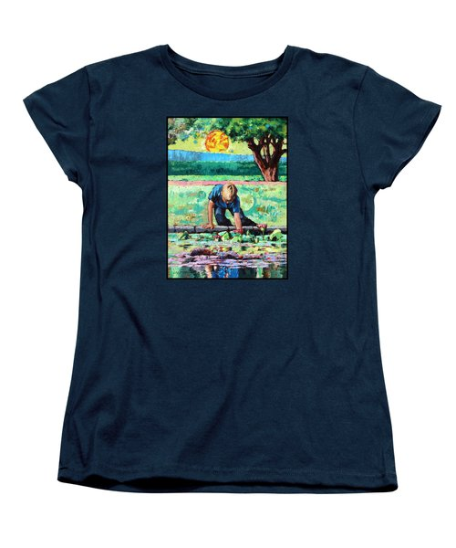 Discovering A World Of Beauty Women's T-Shirt (Standard Cut) by John Lautermilch