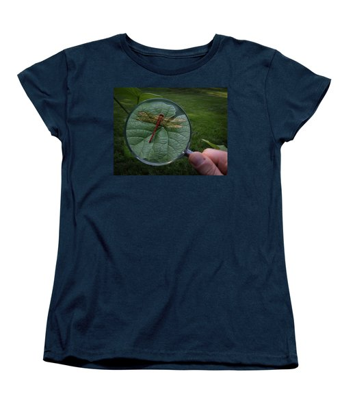Women's T-Shirt (Standard Cut) featuring the photograph Discovery by Mark Fuller