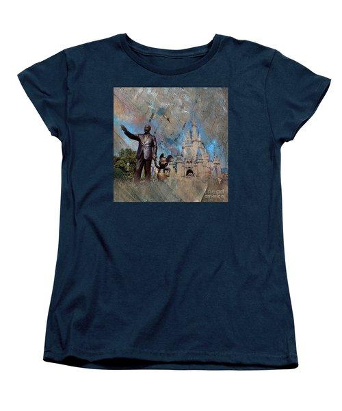 Disney World Women's T-Shirt (Standard Cut) by Gull G