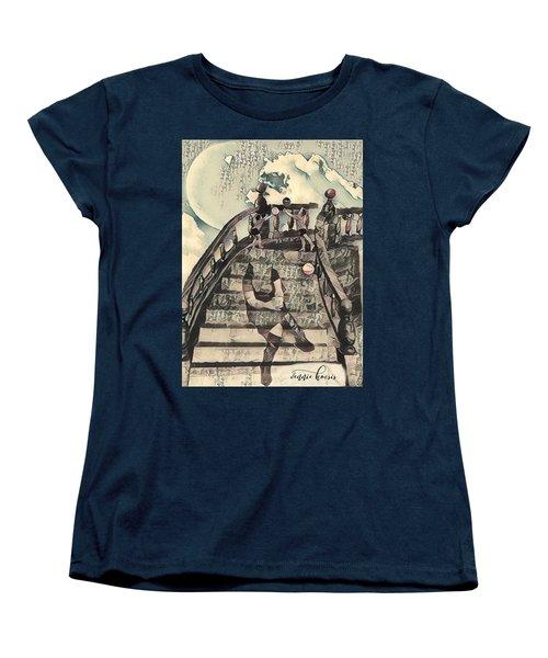 Dissociated Mother Women's T-Shirt (Standard Cut) by Vennie Kocsis