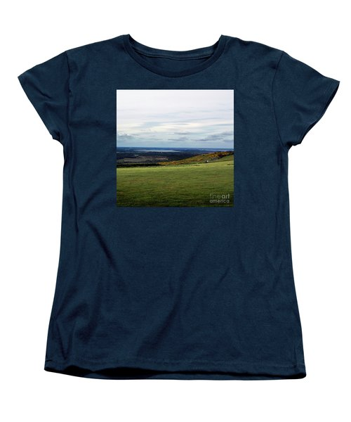 Distance Women's T-Shirt (Standard Cut) by Sebastian Mathews Szewczyk