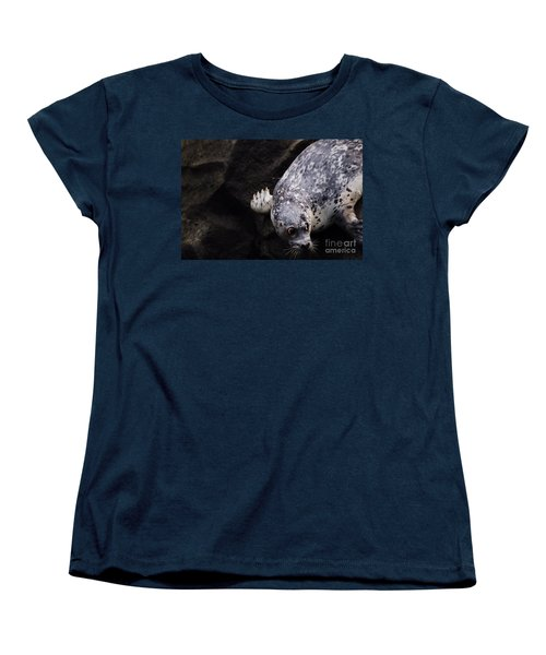 Women's T-Shirt (Standard Cut) featuring the photograph Diving In Head First by Nick Gustafson