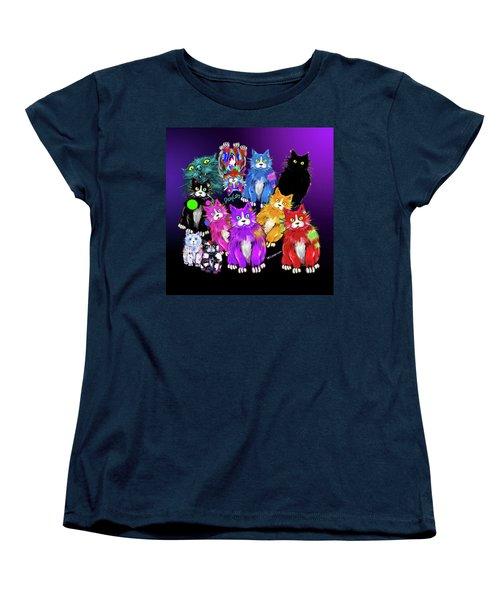 Dizzycats Women's T-Shirt (Standard Cut) by DC Langer
